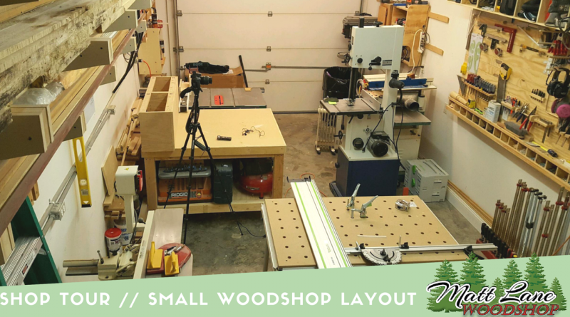 Shop Tour -- Small WoodShop Layout