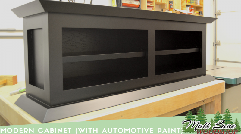 Modern Cabinet (with Automotive Paint)