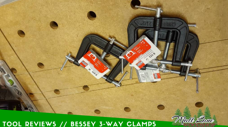 Bessey 3 Way clamps
