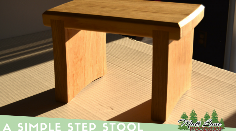 Simple Step Stool (2)